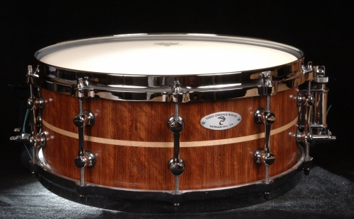 Bubinga and Maple Snare Drum