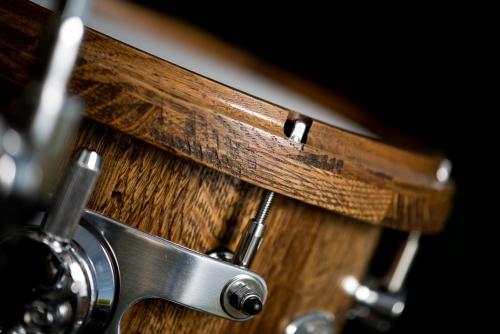 Wine Barrel Drum Set Tom Suspension Mount
