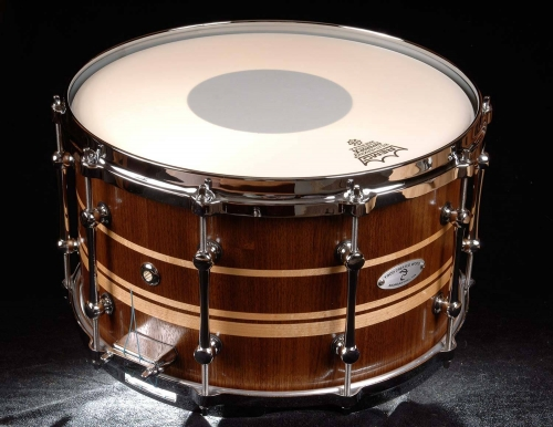Walnut and Maple Snare Drum